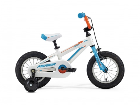 Merida Matts J12 White Blue Orange